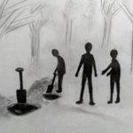 Grilgrot: Geheim in die bos