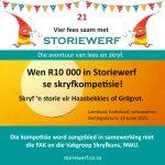 Storiewerf 21 skryfkompetisie