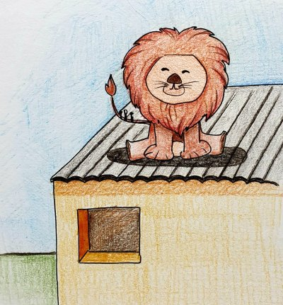 Die leeu op die dak