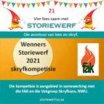 wenners Storiewerf 2021 skryfkompetisie